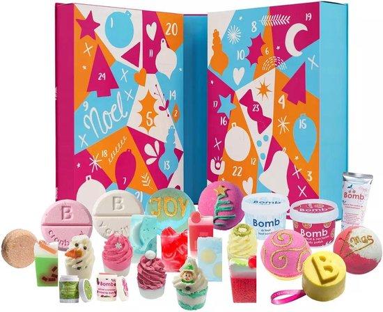 """Superluxe en Exclusieve Adventkalender """"Tinsel my Fancy"""" vol full-size badproducten kerst"""