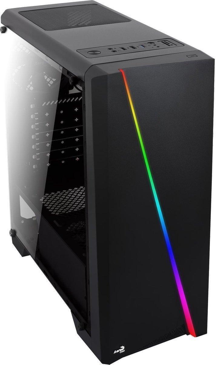 Allround Gaming PC (Ryzen 5 3600 4,2 Ghz, 16 GB DDR4 werkgeheugen, GTX 1650, 240GB SSD schijf en 1 T