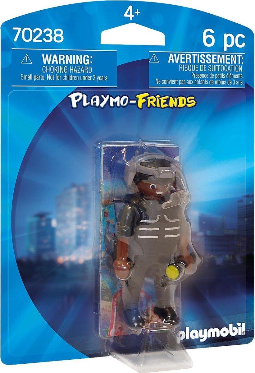 PLAYMOBIL SIE-agent - 70238