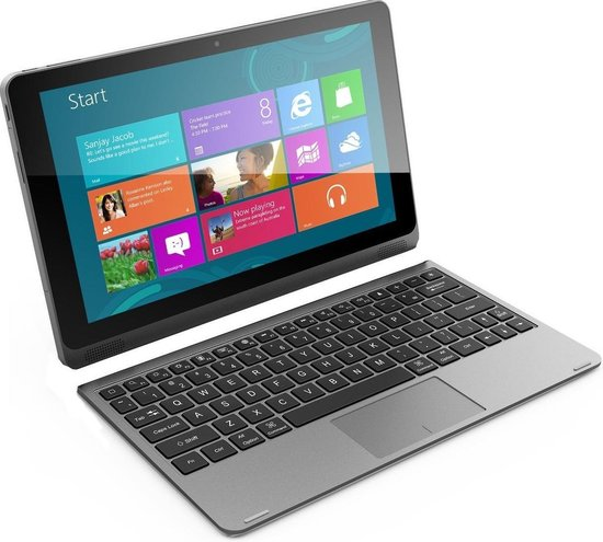 Empire Laptop / tablet 2-in-1 - 16GB SSD - 10.1 inch - HDMI - USB 3.0 - Office 365