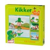 Kikker  -   Kikker 4 in 1 puzzel