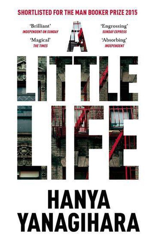 Boek cover A Little Life van Hanya Yanagihara (Onbekend)