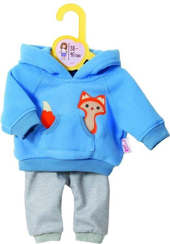 Dolly Moda Joggingsuit Blue 43cm - Dolly Moda