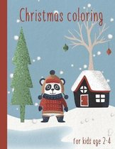 Christmas Coloring for kids age 2-4