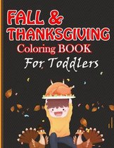 Fall & Thanksgiving Coloring Book For Toddlers