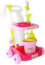 Schoonmaakkarretje Speelgoed - Schoonmaakset Kinderen - Schoonmaaktrolley - Schoonmaak - Multicolour