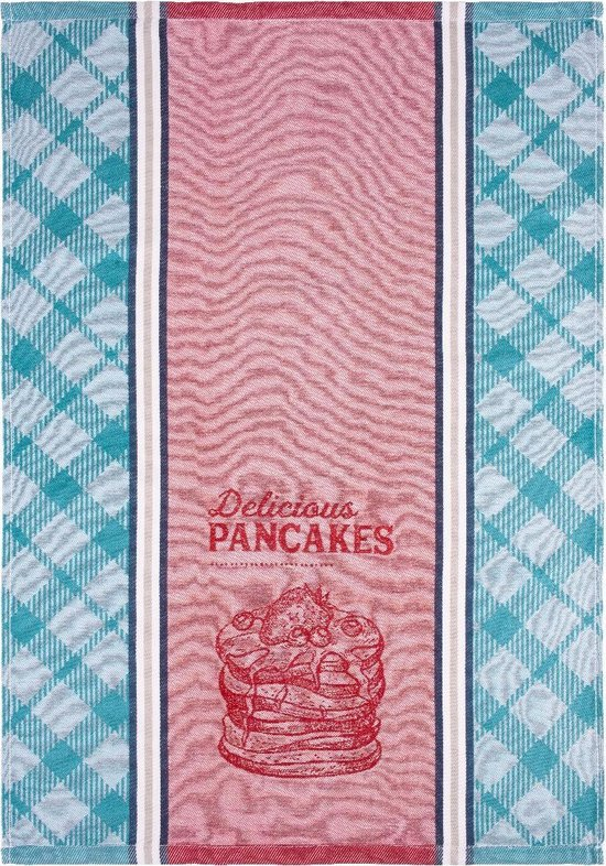 Clarysse Theedoeken Pancakes 6 stuks-Blauw