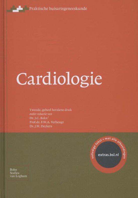 Boek cover Cardiologie van Bakx, J.C. (Onbekend)
