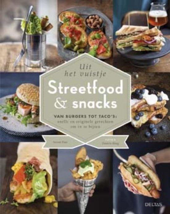 Boek cover Streetfood and snacks van Stevan Paul (Hardcover)