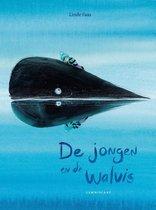 Boek cover De jongen en de walvis van Linde Faas (Hardcover)