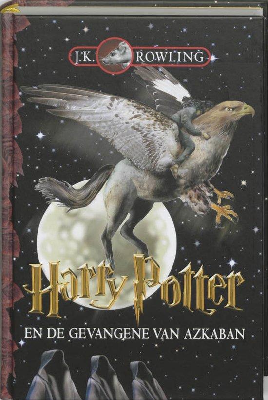 Boek cover Harry Potter 3 -   Harry Potter en de gevangene van Azkaban van J.K. Rowling (Hardcover)