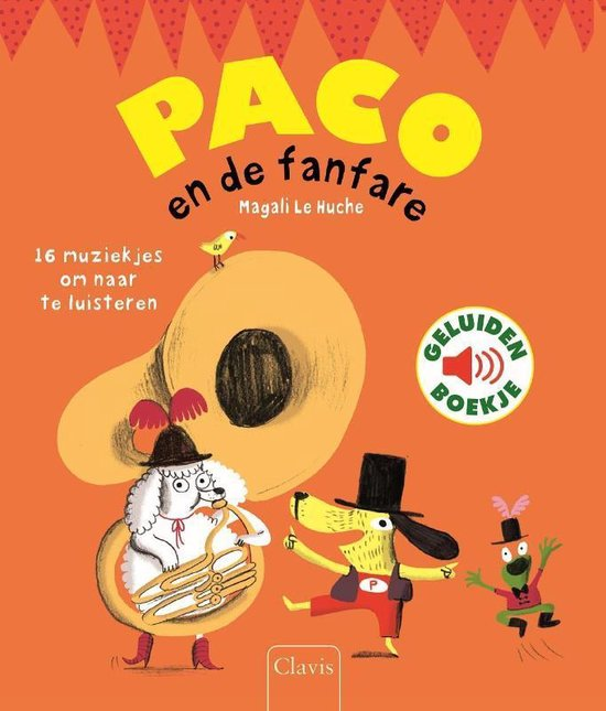 Boek cover Paco en de fanfare van Magali le Huche (Hardcover)