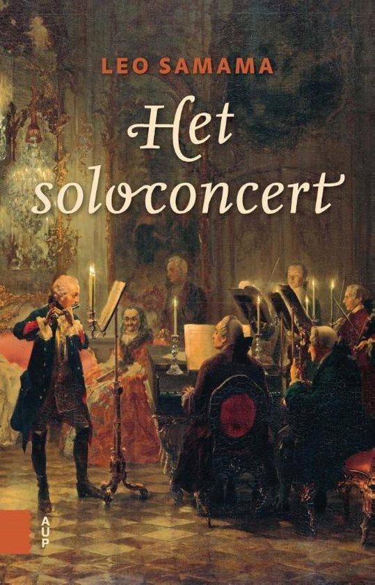 Boek cover Het soloconcert van Leo Samama
