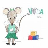 Nora muis bouwt een toren