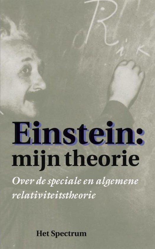 Boek cover Einstein: Mijn theorie van A. Einstein (Paperback)