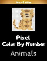 Pixel Color By Number Animals