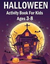 Halloween Activity Book for kids 3-8