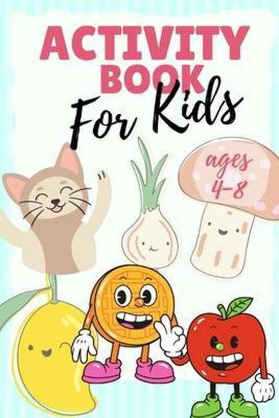 Activty book for Kids ages 4-8
