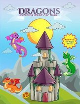 Dragons: A Coloring Book for Kids