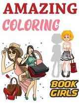 Amazing Coloring Book Girls