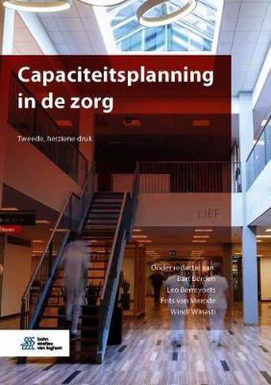 Boek cover Capaciteitsplanning in de Zorg van Berden, Bart (Hardcover)
