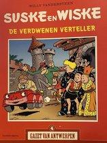 Suske en Wiske - de verdwenen verteller (gazet van Antwerpen)