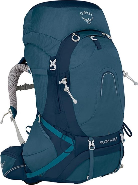 Osprey Aura AG backpack - Rugzak - 65 Liter - Challenger Blue