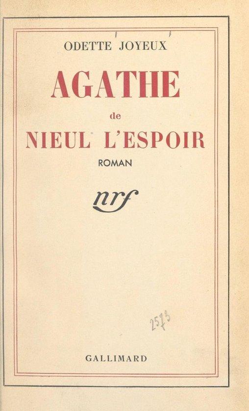 Agathe de Nieul l'Espoir