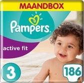 Pampers Active Fit Luiers - Maat 3 - 62 stuks