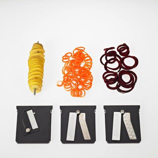 Lurch - Super Spirali - Spiraalsnijder - Groentesnijder voor courgetti – Grijs en wit