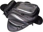 Motortas - Tanktas - Motorbagage met Telefoonhouder / GPS - Zwart - Motorcycle Luggage - Motorcycle Bag