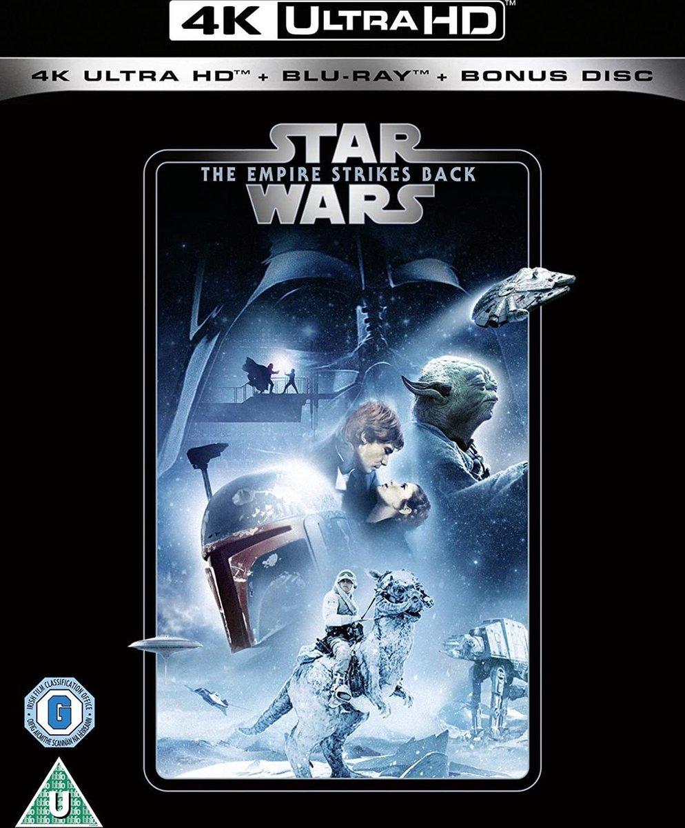Star Wars Episode V: The Empire Strikes Back UHD [Blu-ray - 4K Ultra HD + Blu-ray] (2020) (Import zonder NL)-