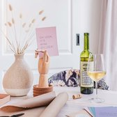 Kaart met wijn quotes – Set van 5 kaarten - Happy Wine Cards – Oh Look, it's wine O' Clock