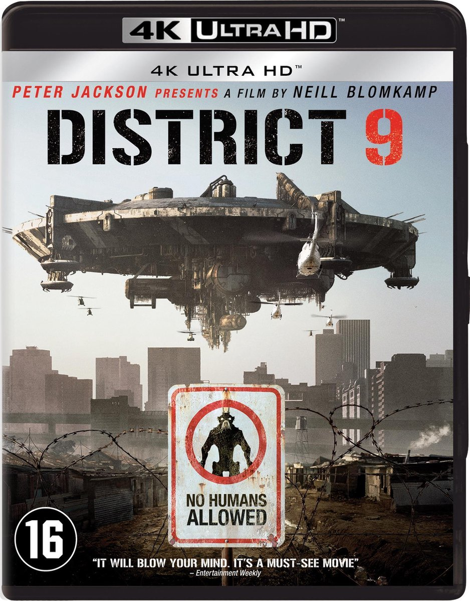 District 9 (4K Ultra HD Blu-ray)-