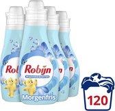 Robijn Morgenfris Wasverzachter - 4 x 30 wasbeurten - Voordeelverpakking