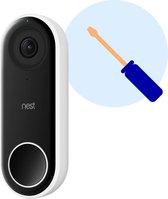 Google Nest Hello videodeurbel Installatie door Zoofy - Installatieafspraak gepland binnen 1 werkdag - Exclusief videodeurbel