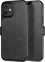 Evo Wallet book case voor iPhone 12 / 12 Pro - Smokey Black
