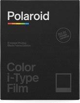 Polaroid Color i-Type Film Black Frame  - 1x8 stuks