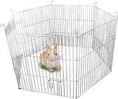 Flamingo Puppyren - Verzinkt - 60 cm