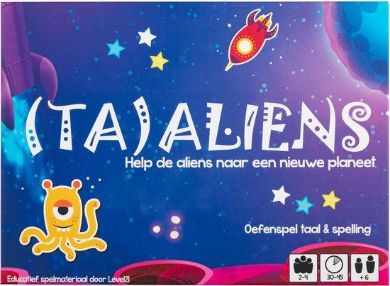 Afbeelding van het spel (TA)ALIENS - Spelling 1e leerjaar - Level21