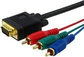 VGA naar RGB Kabel Lengte: 3 Meter