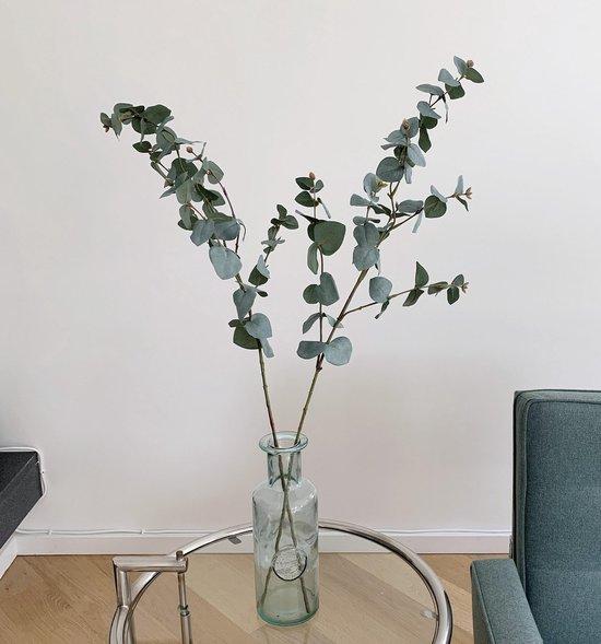 3x Kunst eucalyptus takjes | Eucalyptus | Eucalyptus tak | Decoratieve tak | Kunst eucalyptus | Kunsttak | Siertak | Kunsttakken | Siertakken