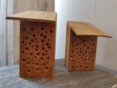 Insectenhotel Massief Hardhout Ecologisch Bijenhotel