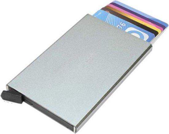 Figuretta PU-lederen uitschuifbare cardprotector - Bruin