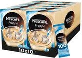 Nescafé Frappé Sticks - 10 doosjes à 10 sticks