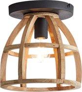 "Brilliant Industriële Plafondlamp "" Matrix Wood """