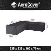 AeroCover loungesethoes hoekset - 235x235x100x70 cm(LxLxBxH) - Antraciet