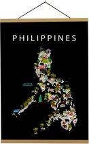Kaart van Filipijnen   B2 poster   50x70 cm   Maison Maps