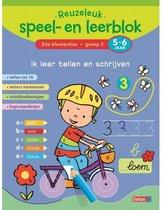 Reuzeleuk speel- en leerblok  -  Ik leer tellen en schrijven 3de kleuterklas; groep 2; 5-6 jaar