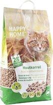 Happy Home Natural Wood - Kattenbakvulling - 20 l